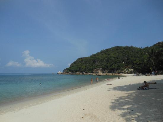 Silver Beach Resort: private beach