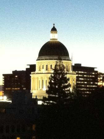 Hyatt Regency Sacramento: View of the State Capitol from my room