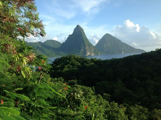 Anse Chastanet: Amazing View!