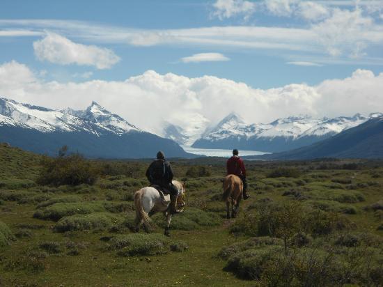 Cabalgata del Glaciar