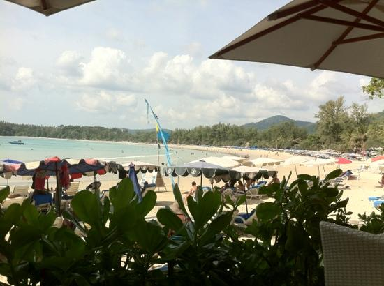 Re Ka Ta Beach Club: the view!