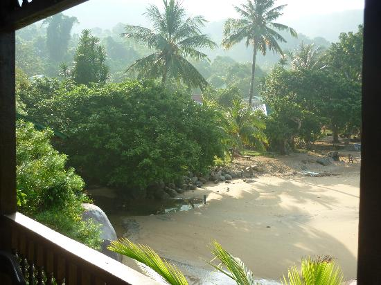 Bamboo Hill Chalets: Best view - shame about the room
