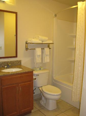 Candlewood Suites Springfield : Springfield Candlewood bath