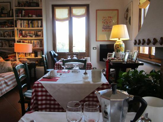 I Coppi: Breakfast room
