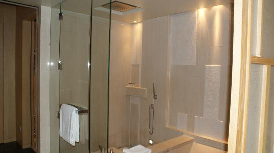 Park Hyatt Beijing: massive shower
