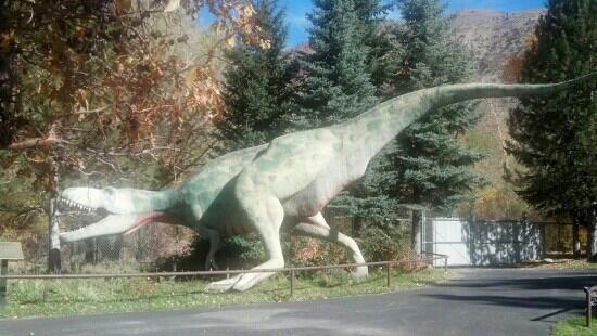 George S. Eccles Dinosaur Park: very interesting and affordable museum