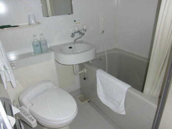 Hotel Route Inn Uozu: 部屋の風呂