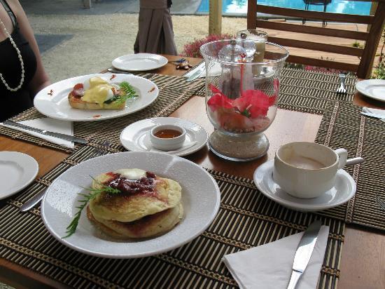 أكوانا بيتش ريزورت: Great breakfasts 