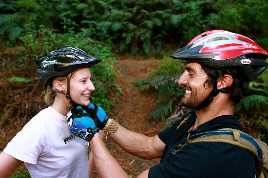 Mountain Bike Rotorua- Day Tours: Our friendly staff will help you prepare for your riding experience!