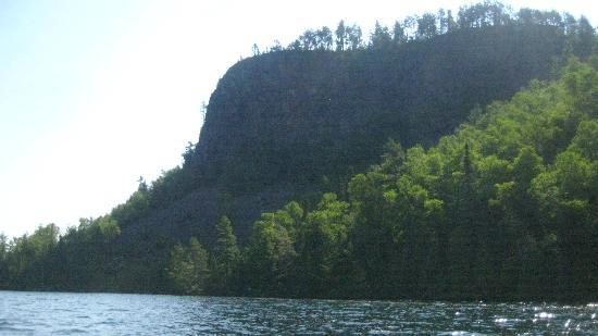 Clearwater Historic Lodge: Climb this Bluff but trail head difficult to locate. Take flares.