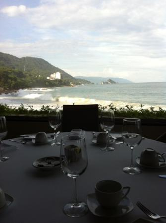 Blanca Blue Restaurant & Lounge : can't use any word to describe the view