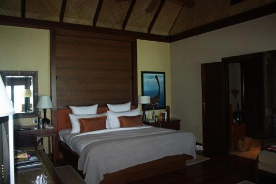 Taj Exotica Resort & Spa: our water villa