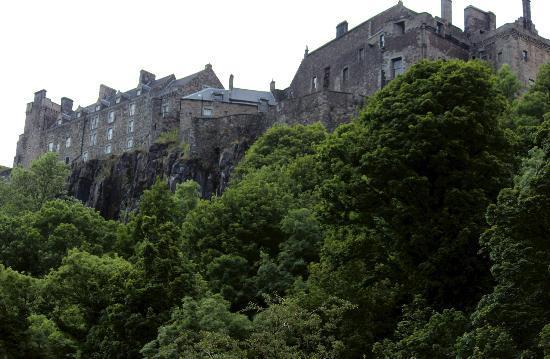 Castlecroft: Stirling Castle from the Back Walk