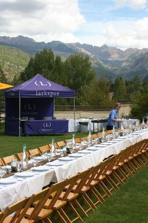 Larkspur's Harvest Lunch