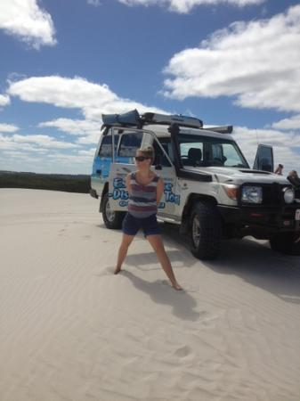 Esperance Eco Discovery Tours: on top of the sand dunes