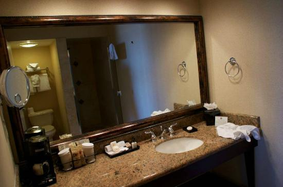 BEST WESTERN PLUS Island Palms Hotel & Marina: bathroom