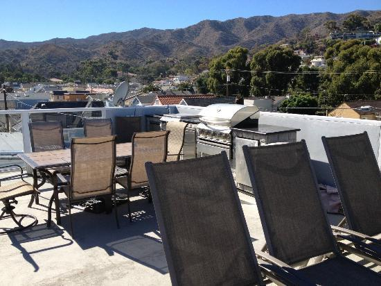 Catalina Island Seacrest Inn: Roof top deck