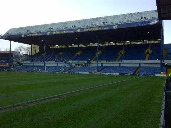 Hillsborough Stadium: The Leppings Lane end.