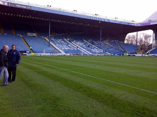 Hillsborough Stadium: The 11,000+ seated Kop.