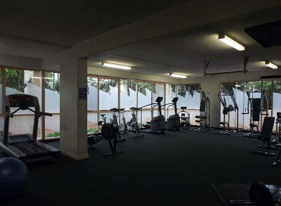 Novotel Coffs Harbour Pacific Bay Resort: gym