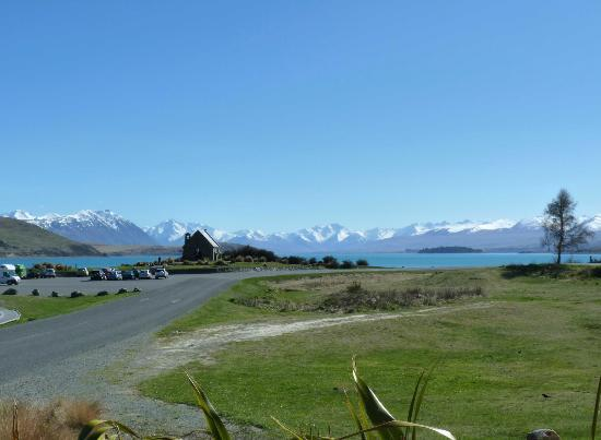 Peppers Bluewater Resort: The beautiful Lake Tekapo