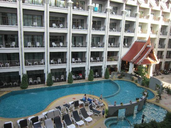 Amata Patong: View from our room on the 3rd floor of the new block