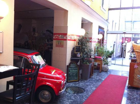 Erlebnis Post Stadthotel -  Hotel mit EigenART: Le couloir