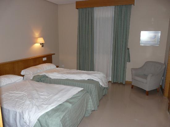 Hotel Central : habitacion