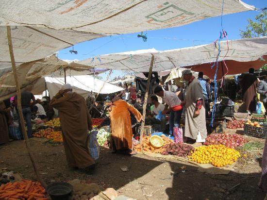 Berber Travel Adventures: Berber market