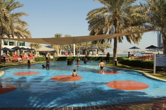 kids pool area picture of beach rotana abu dhabi. Black Bedroom Furniture Sets. Home Design Ideas