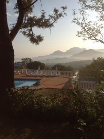 Hostellerie de France: Morning has broken