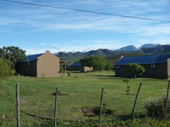Thabile Lodge: Zicht op bergen