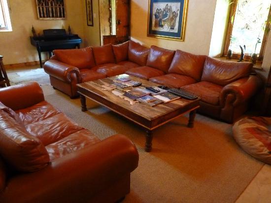 Thabile Lodge: Salon