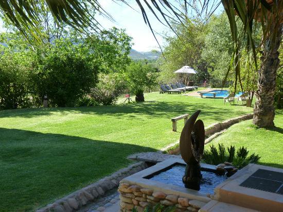 Thabile Lodge: Tuin