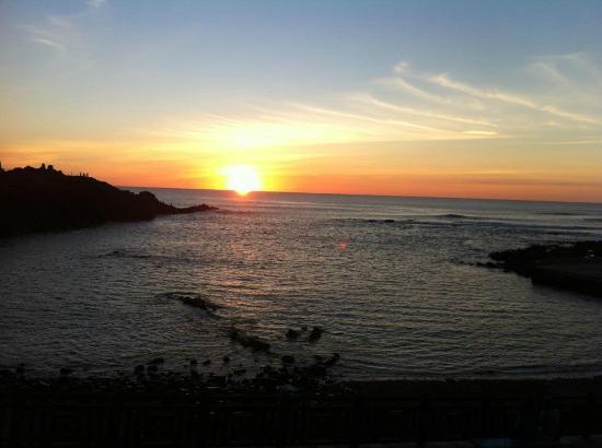 Restaurante El Mirador: Sunset from the restaurant