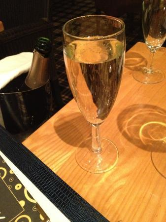 Bar Epernay: Heaven. A bottle of champagne to end the working week