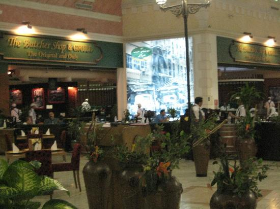 Villaggio: one of the many restaurant