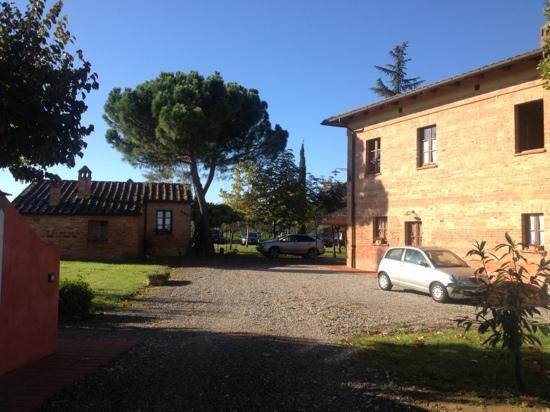 Agriturismo Podere La Rocca: panorama