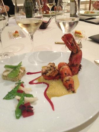 Chateau Cordeillan-Bages: middag på hotellet