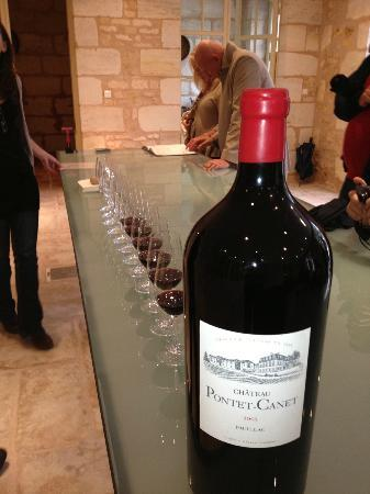 Chateau Cordeillan-Bages: Vinsmaking