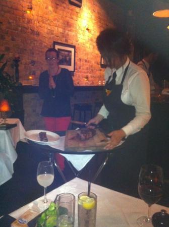 Jervois Steak House: 1 Kg Rib Eye