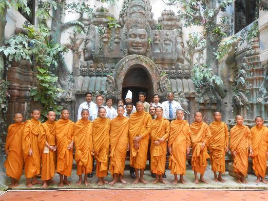 Majestic Oriental Hotel : Hotel Spiritual Blessing by Buddhist Monks