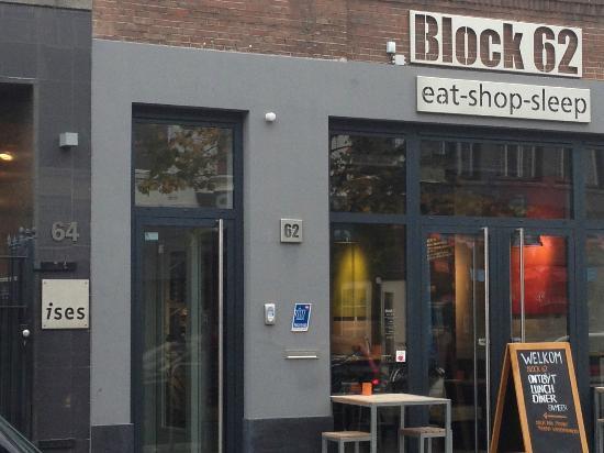 Front of Block 62 from Ginnekenweg