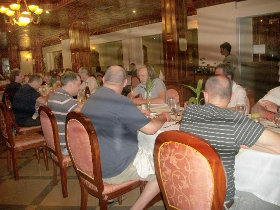 Majestic Oriental Hotel: Motorcross Group Dinner