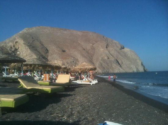 ستيليوس بليس: Perissa beach 