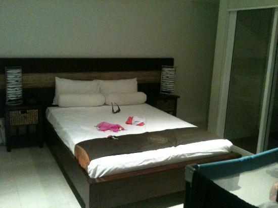 آت بلو هورايزون ريزورت أبارتمنتس: my room <3 lush hey !! 