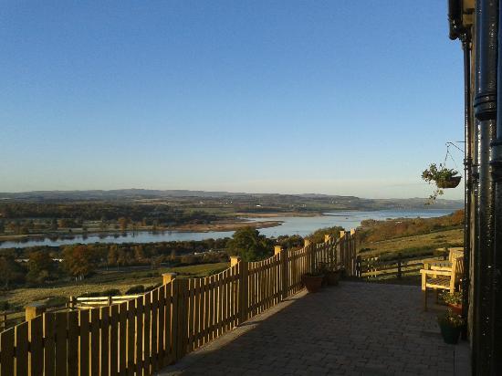 Gavinburn Cottages: Morning View at Gavinburn