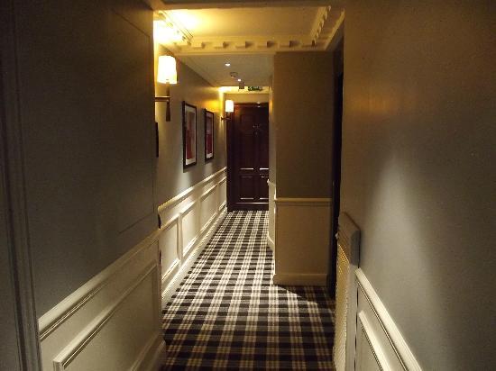 Hotel Keppler: CORREDOR DOS APARTAMENTOS