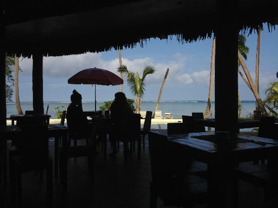Mango Bay Resort Fiji: View from restaurant