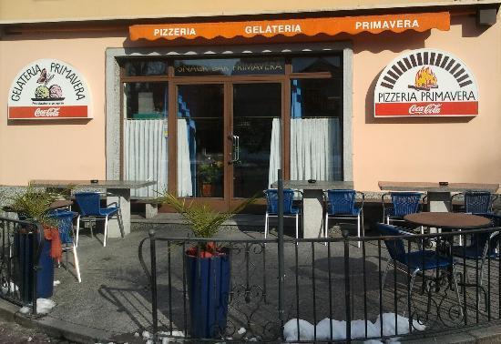 Pizzeria E Gelateria Primavera : Entrata